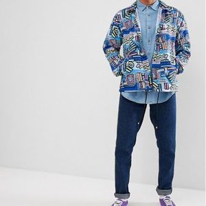 Herschel Hoffman Abstract Geo Coach Jacket